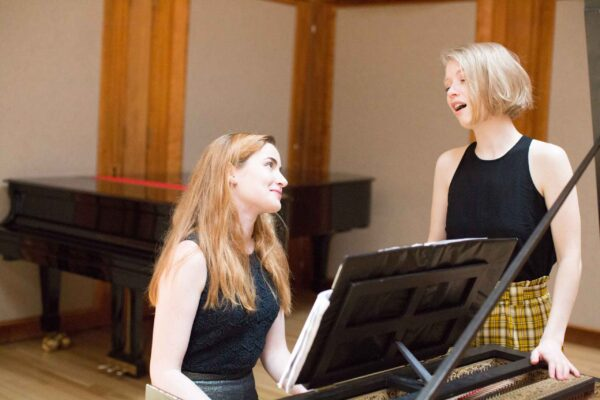 Vocal and Harpsichord students
